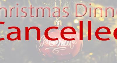 Cancelled 12-08-2020 Christmas Dinner